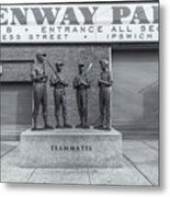 Teammates II Metal Print by Clarence Holmes