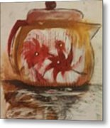 Teapot Metal Print by Gregory Dallum