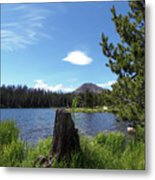 Teapot Lake Metal Print
