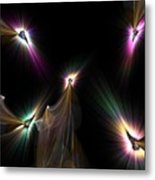 Tear The Darkness Metal Print