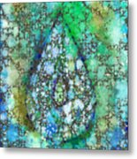 Tears Of Growth Metal Print