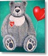 Teddy Bear Eli Metal Print