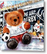Teddy Bear Ince Metal Print