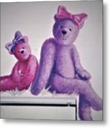 Teddy's Day Metal Print