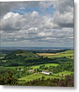 Tees Plain And Roseberry Topping Metal Print