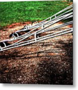 Teeter Totter Metal Print