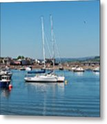 Teignmouth Harbour Metal Print
