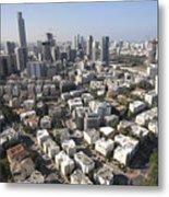 Tel Aviv And Ramat Gan Israel Metal Print