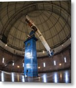 Telescope At Yerkes Metal Print