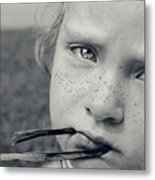 Tell Me What's Wrong Metal Print
