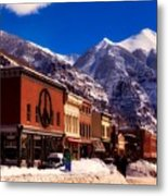 Telluride For The Holiday Metal Print