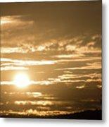 Telstra Tower Sunset Metal Print