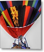 Temecula, Ca - Flames Over Wine Country Metal Print