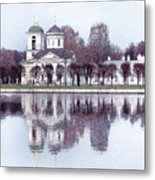 Temple And Bell Tower II Metal Print