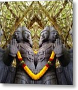 Temple God Metal Print