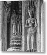 Temple Goddess Metal Print