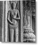 Temple Guardian Metal Print