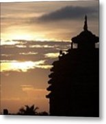 Temple In India Metal Print