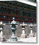 Temple Lanterns  Metal Print