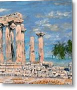 Temple Of Apollo  Metal Print