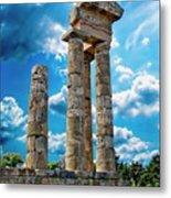 Temple Of Apollon Metal Print