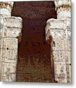 Temple Of Edfu I Metal Print