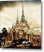 Temple Of Non Goom Metal Print