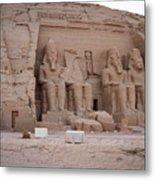 Temple Of Rameses II Metal Print