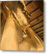 Temple Of Reclining Buddha  Metal Print