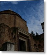 Temple Of Romulus Metal Print