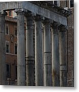 Temple Of Saturn Metal Print