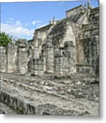 Temple Of The Warriors - Chichen Itza - Mexico Metal Print