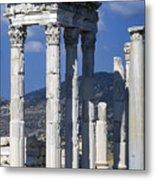 Temple Of Trajan View 1 Metal Print