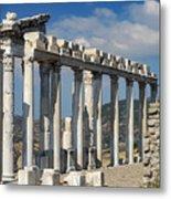 Temple Of Trajan View 3 Metal Print