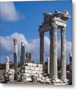 Temple Of Trajan View  Metal Print