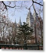 Temple View Metal Print