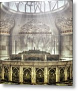 Temple Washroom Metal Print