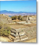 Temples In Monte Alban Metal Print