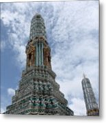 Temples, Thailand Metal Print