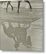Tempo Reflected Metal Print