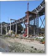 Temporary Structure Metal Print