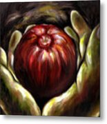Temptation... Adams Dilemma Metal Print