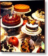 Tempting Treats Metal Print