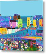 Tenby Harbour  I Metal Print