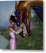 Tender Moment Metal Print