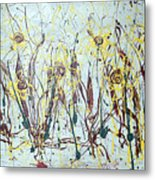 Tending My Garden Metal Print by J R Seymour