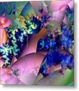 Tending Toward Flowers Metal Print
