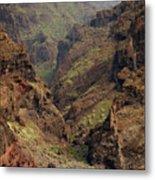 Tenerife Coastline Metal Print