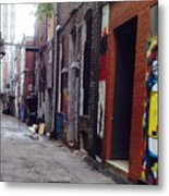 Tennessee Alley Metal Print by Joyce Kimble Smith