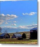 Tennessee Farm Metal Print